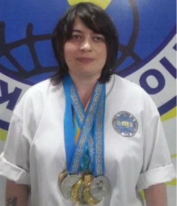 Виктория Дворецкая тренер Таэквондо